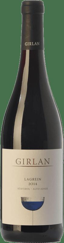 11,95 € Free Shipping | Red wine Girlan D.O.C. Alto Adige Trentino-Alto Adige Italy Lagrein Bottle 75 cl