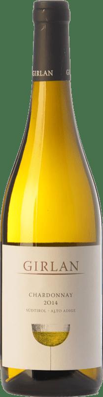 12,95 € Envío gratis | Vino blanco Girlan D.O.C. Alto Adige Trentino-Alto Adige Italia Chardonnay Botella 75 cl