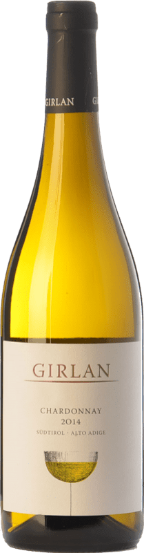 12,95 € Free Shipping | White wine Girlan D.O.C. Alto Adige Trentino-Alto Adige Italy Chardonnay Bottle 75 cl