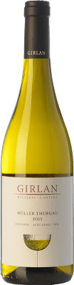 12,95 € Free Shipping | White wine Girlan D.O.C. Alto Adige Trentino-Alto Adige Italy Müller-Thurgau Bottle 75 cl