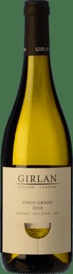 9,95 € Envío gratis | Vino blanco Girlan D.O.C. Alto Adige Trentino-Alto Adige Italia Pinot Gris Botella 75 cl