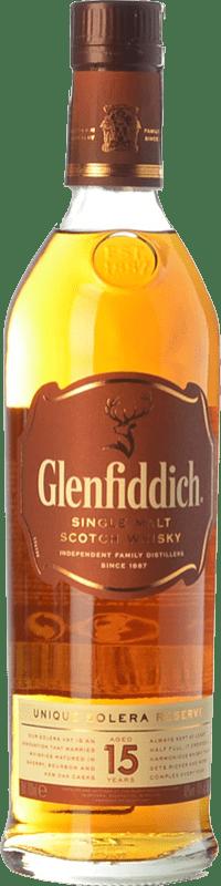 41,95 € Free Shipping | Whisky Single Malt Glenfiddich 15 Speyside United Kingdom Bottle 70 cl