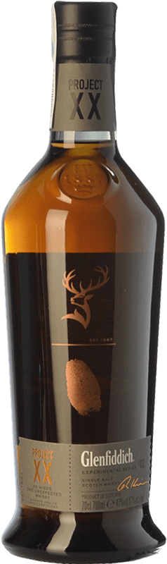 72,95 € Free Shipping | Whisky Single Malt Glenfiddich Project XX Speyside United Kingdom Bottle 70 cl