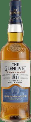 29,95 € Free Shipping | Whisky Single Malt Glenlivet Founders Reserve Speyside United Kingdom Bottle 70 cl