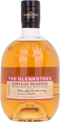 49,95 € Envoi gratuit | Whisky Single Malt Glenrothes Vintage Reserve Speyside Royaume-Uni Bouteille 70 cl