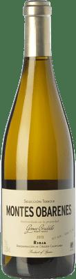 39,95 € Envío gratis | Vino blanco Gómez Cruzado Montes Obarenes Crianza D.O.Ca. Rioja La Rioja España Viura, Tempranillo Blanco Botella 75 cl