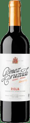 19,95 € Kostenloser Versand | Rotwein Gómez Cruzado Reserva D.O.Ca. Rioja La Rioja Spanien Tempranillo Flasche 75 cl