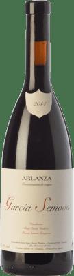 15,95 € Free Shipping | Red wine García Viadero García Semova Joven D.O. Arlanza Castilla y León Spain Tempranillo, Albillo Bottle 75 cl