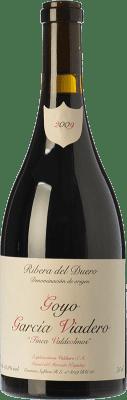45,95 € Free Shipping | Red wine García Viadero Valdeolmos Crianza D.O. Ribera del Duero Castilla y León Spain Tempranillo, Albillo Bottle 75 cl