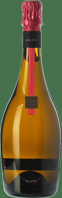 32,95 € Envio grátis | Espumante rosé Gramona Argent Rosé Gran Reserva D.O. Cava Catalunha Espanha Pinot Preto Garrafa 75 cl