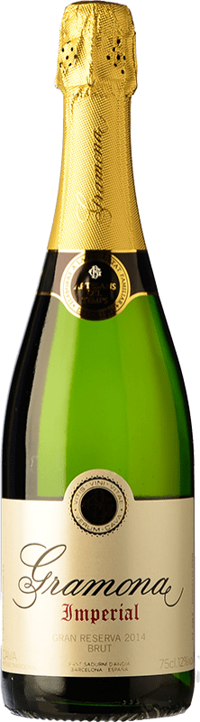24,95 € 免费送货 | 白起泡酒 Gramona Imperial Gran Reserva D.O. Cava 加泰罗尼亚 西班牙 Macabeo, Xarel·lo, Chardonnay 瓶子 75 cl