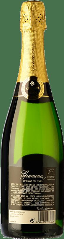 24,95 € Envio grátis | Espumante branco Gramona Imperial Gran Reserva D.O. Cava Catalunha Espanha Macabeo, Xarel·lo, Chardonnay Garrafa 75 cl
