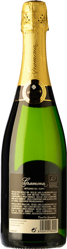 24,95 € Free Shipping | White sparkling Gramona Imperial Gran Reserva D.O. Cava Catalonia Spain Macabeo, Xarel·lo, Chardonnay Bottle 75 cl