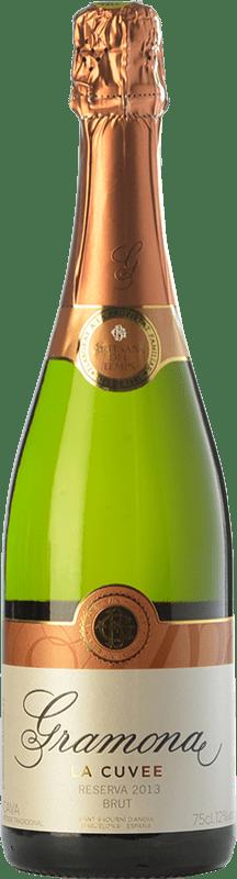 15,95 € 免费送货 | 白起泡酒 Gramona La Cuvée 香槟 Reserva D.O. Cava 加泰罗尼亚 西班牙 Macabeo, Xarel·lo 瓶子 75 cl
