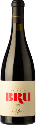 25,95 € Free Shipping | Red wine Bru de Gramona Joven D.O. Penedès Catalonia Spain Pinot Black Bottle 75 cl