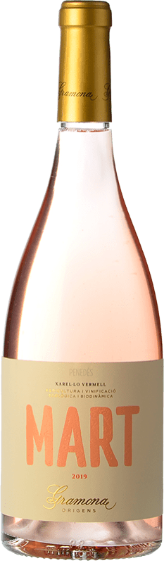 13,95 € Free Shipping | Rosé wine Gramona Mart D.O. Penedès Catalonia Spain Xarel·lo Vermell Bottle 75 cl