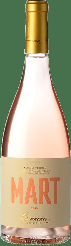 13,95 € Free Shipping | Rosé wine Gramona Mart D.O. Penedès Catalonia Spain Xarel·lo Vermell Bottle 75 cl