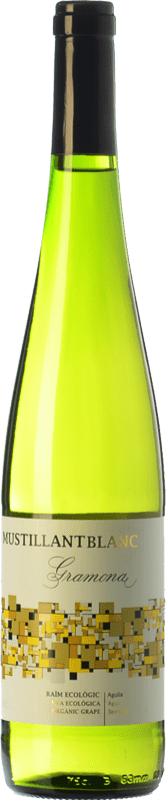 8,95 € Free Shipping | White sparkling Gramona Moustillant Blanc Brut D.O. Penedès Catalonia Spain Parellada Bottle 75 cl
