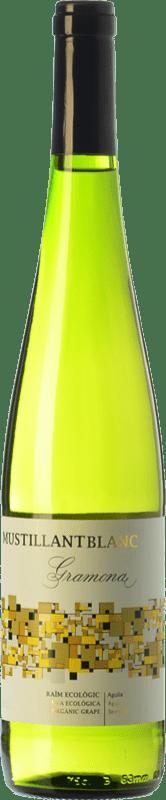 8,95 € Free Shipping | White sparkling Gramona Moustillant Blanc Brut D.O. Penedès Catalonia Spain Parellada Bottle 75 cl