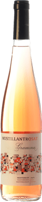 9,95 € Free Shipping | Rosé sparkling Gramona Moustillant Rosat Brut D.O. Penedès Catalonia Spain Merlot, Syrah Bottle 75 cl