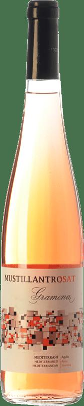 8,95 € 免费送货 | 玫瑰气泡酒 Gramona Moustillant Rosat 香槟 D.O. Penedès 加泰罗尼亚 西班牙 Merlot, Syrah 瓶子 75 cl