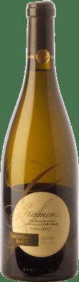 18,95 € Envío gratis | Vino blanco Gramona Crianza D.O. Penedès Cataluña España Sauvignon Blanca Botella 75 cl