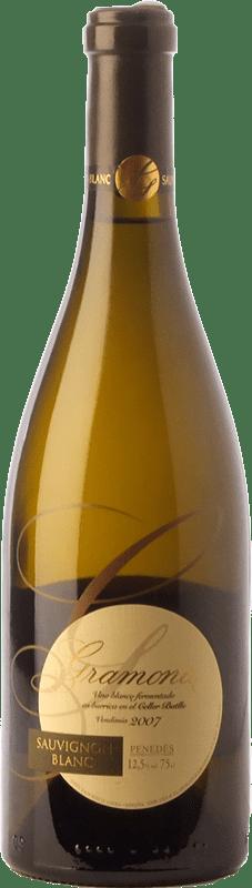 19,95 € Envio grátis | Vinho branco Gramona Crianza D.O. Penedès Catalunha Espanha Sauvignon Branca Garrafa 75 cl