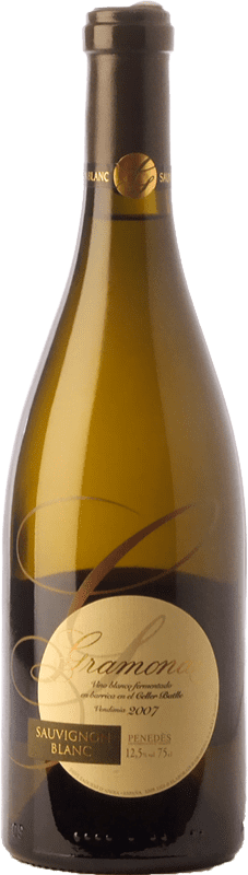 19,95 € Free Shipping | White wine Gramona Crianza D.O. Penedès Catalonia Spain Sauvignon White Bottle 75 cl