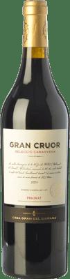 52,95 € Free Shipping | Red wine Gran del Siurana Gran Cruor Selecció Caranyena Crianza D.O.Ca. Priorat Catalonia Spain Carignan Bottle 75 cl