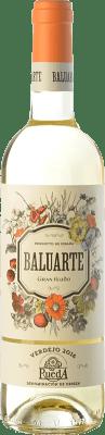 7,95 € Envío gratis | Vino blanco Gran Feudo Baluarte D.O. Rueda Castilla y León España Verdejo Botella 75 cl