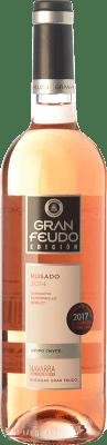 6,95 € Kostenloser Versand | Rosé-Wein Gran Feudo Edición Rosado D.O. Navarra Navarra Spanien Tempranillo, Merlot, Grenache Flasche 75 cl