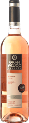 6,95 € Envío gratis | Vino rosado Gran Feudo Edición Rosado D.O. Navarra Navarra España Tempranillo, Merlot, Garnacha Botella 75 cl