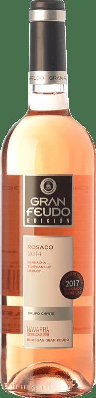 6,95 € Envoi gratuit   Vin rose Gran Feudo Edición Rosado D.O. Navarra Navarre Espagne Tempranillo, Merlot, Grenache Bouteille 75 cl