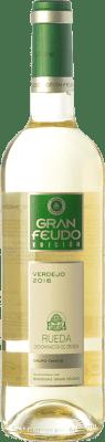 6,95 € Kostenloser Versand | Weißwein Gran Feudo Edición D.O. Rueda Kastilien und León Spanien Verdejo Flasche 75 cl