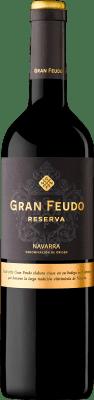 6,95 € Envío gratis | Vino tinto Gran Feudo Reserva D.O. Navarra Navarra España Tempranillo, Merlot, Cabernet Sauvignon Botella 75 cl