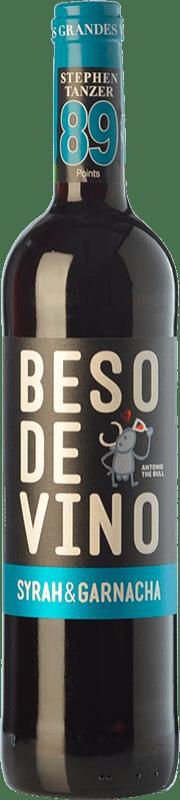 5,95 € Envoi gratuit   Vin rouge Grandes Vinos Beso de Vino Joven D.O. Cariñena Aragon Espagne Syrah, Grenache Bouteille 75 cl