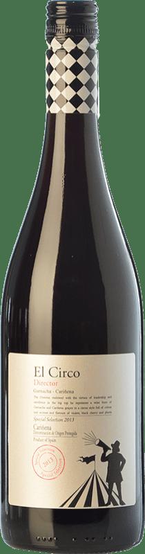 5,95 € Free Shipping | Red wine Grandes Vinos El Circo Director Joven D.O. Cariñena Aragon Spain Grenache, Carignan Bottle 75 cl