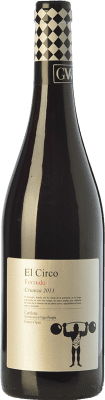 5,95 € Free Shipping | Red wine Grandes Vinos El Circo Forzudo Joven D.O. Cariñena Aragon Spain Tempranillo, Grenache, Cabernet Sauvignon, Carignan Bottle 75 cl