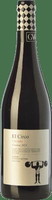 8,95 € Envoi gratuit | Vin rouge Grandes Vinos El Circo Forzudo Joven D.O. Cariñena Aragon Espagne Tempranillo, Grenache, Cabernet Sauvignon, Carignan Bouteille 75 cl