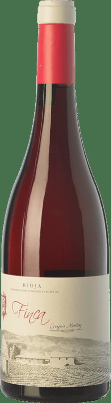 14,95 € Spedizione Gratuita | Vino rosato Gregorio Martínez Finca Sangrado D.O.Ca. Rioja La Rioja Spagna Tempranillo, Mazuelo Bottiglia 75 cl