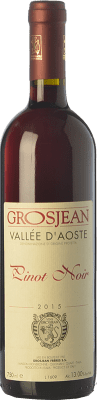 18,95 € Free Shipping | Red wine Grosjean Pinot Nero D.O.C. Valle d'Aosta Valle d'Aosta Italy Pinot Black Bottle 75 cl