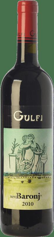 19,95 € Free Shipping | Red wine Gulfi Nero Baronj I.G.T. Terre Siciliane Sicily Italy Nero d'Avola Bottle 75 cl
