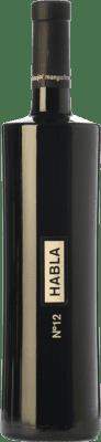 19,95 € Kostenloser Versand   Rotwein Habla Nº 12 Crianza I.G.P. Vino de la Tierra de Extremadura Extremadura Spanien Syrah Flasche 75 cl