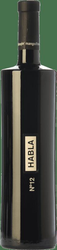 19,95 € Free Shipping | Red wine Habla Nº 12 Crianza I.G.P. Vino de la Tierra de Extremadura Estremadura Spain Syrah Bottle 75 cl