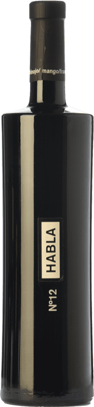 19,95 € Envío gratis | Vino tinto Habla Nº 12 Crianza I.G.P. Vino de la Tierra de Extremadura Extremadura España Syrah Botella 75 cl