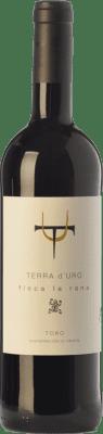 11,95 € Envío gratis | Vino tinto Terra d'Uro Finca La Rana Joven D.O. Toro Castilla y León España Tinta de Toro Botella 75 cl