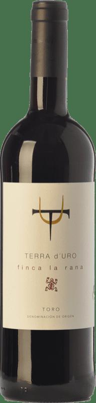 12,95 € Spedizione Gratuita | Vino rosso Terra d'Uro Finca La Rana Joven D.O. Toro Castilla y León Spagna Tinta de Toro Bottiglia 75 cl