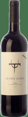 7,95 € Envío gratis | Vino tinto Terra d'Uro Roble D.O. Toro Castilla y León España Tinta de Toro Botella 75 cl