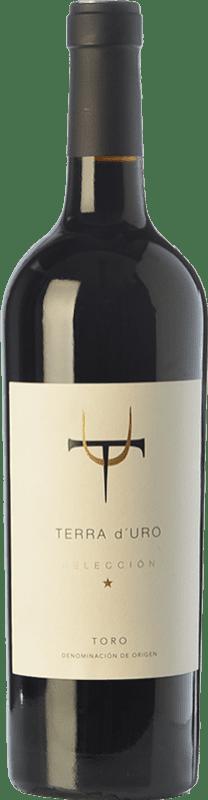 19,95 € Envío gratis | Vino tinto Terra d'Uro Selección Crianza D.O. Toro Castilla y León España Tinta de Toro Botella 75 cl
