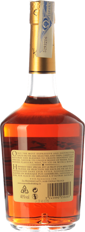 28,95 € Free Shipping | Cognac Hennessy Very Special A.O.C. Cognac France Bottle 70 cl